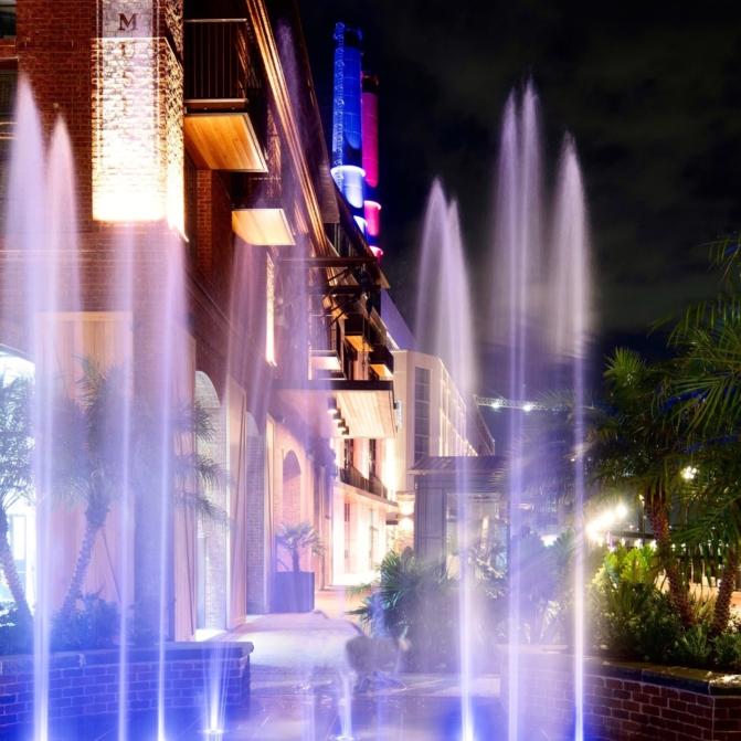 Plant Riverside District Interactive Fountain | Savannah, GA